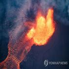 화산,분화,용암,킬라우에아,분출,화산학자