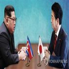 북한,아베,총리,일본,위원장,해결