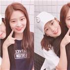 안유진,김민주,아이즈원