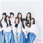 아이즈원,걸그룹,시구,멤버