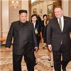 조치,폼페이,비핵화,논의,북한,미국,북미정상회담,장관,위원장,협의