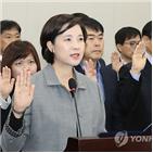 의원,부총리,한국당,인정,차관,증인선서,교육부