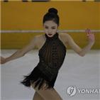 트리플,임은수,대회,김예림,피겨,프리스케이팅
