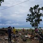 쓰나미,피해,해변,지역,인도네시아,해협,잔해,해안,규모,지원