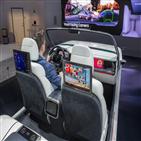 디지털,차량,콕핏,전방,차량용