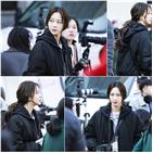 한예슬,촬영,지수현,현장,파파라치,신문기자,변신,모습
