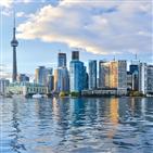 토론토,폭포,캐나다,나이아가라,대자연,도시,도심,음식,수도,여행자