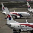 말레이시아항공,나시오날,카자,손실,검토,총리