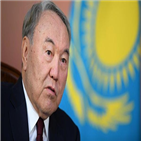 나자르바예프,대통령,카자흐스탄,카자흐,집권,사임,장기,대선,대통령직,공산당