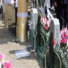 화환,대표,헌화,한국당,대통령