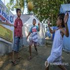 쓰나미,인도네시아,해안,지진,어린이,지역