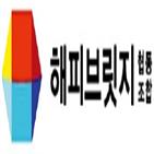 해피브릿지,회사,해피브릿지협동조합,협동조합,직원,전환,프랜차이즈