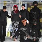 김정남,말레이,북한,말레이시아,시티,체포,용의자,암살,고등법원,석방