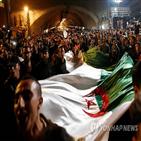 알제리,대통령,이후,국민,군부,정권,지지,도전