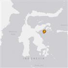 쓰나미,규모,지진,발생,술라웨시섬,인도네시아