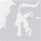 규모,쓰나미,지진,발생,경보,인도네시아