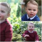 사진,왕자,윌리엄,루이,왕세손,모습