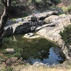 성락원,정원,모습,이사,자연,송석정,물줄기,바위,영벽지,연못