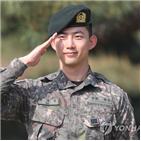 옥택연,복무,2PM,전역