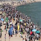 해수욕장,축제,전국,충남,해변,초여름,관광객,발길