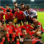 한국,아르헨티나,이강인,조영욱,전반,후반,오세훈,16강,수비수,투입