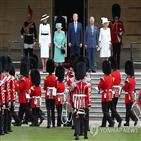 트럼프,영국,대통령,여왕,왕실,런던