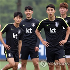 손흥민,감독,훈련,스트라이커,매치,가동