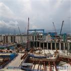 현장,싱가포르,gs건설,달성,공사,지난해