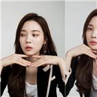 윤소희,얼굴