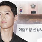 지라,송중기,송혜교,대응,상황,결혼,전날,법적