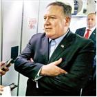 북한,폼페이,합의,비핵화,회담,싱가포르,장관,대통령,미국