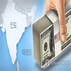 인도,주식,한국,순매수,올해,인도네시아,규모