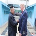 북한,위원장,트럼프,대통령,변화