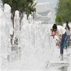 서울,방향,오후,수영장,후텁지근,나들이,나선,가족,고속도로