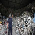 폐기물,불법,의료폐기물,처리,경북,창고,쓰레기,방치,당국,투기