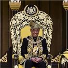 국왕,말레이시아,대관식,술탄,국가