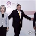 미국,일본,한일,한국,상황,중재,한미일,폼페이,관계,장관