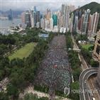 홍콩,중국,무력,개입