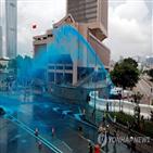 중국,홍콩,시위,무력,진압,본토,사태,투입