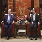 홍콩,시위,중국,방문,부주석,선전