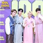 라디오,아이돌,윤산하