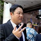 김구라,일본,혐한,방송,인터뷰,직접,기자