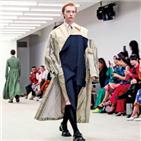 중국,헤지스,패션쇼,패션위크,런던