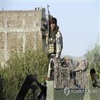 민간인,탈레반,공습,사망