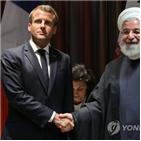 이란,대통령,마크롱,로하니,대통령실