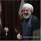 이란,미국,대통령,마크롱,협상,로하니,프랑스,영국,총리,유럽