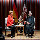 이란,대통령,메르켈,총리,로하니