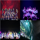 일본,무대,아이즈원,투어,관객