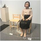 일본,보조금,결정,취소,정부,전시,중단,표현