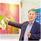건축물,그림,풍경,추상화,서울,건축과,화가,인생,도시